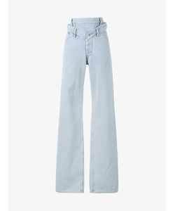 Y / Project | High-Waisted Oversized Jeans