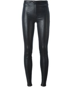 Helmut Lang | Skinny Leather Trousers