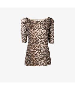 Ganni | Peirce Leopard Print Top