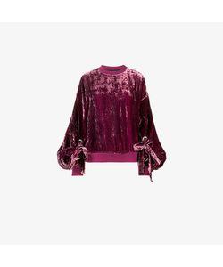 Y / Project | Crushed Velvet Sweatshirt