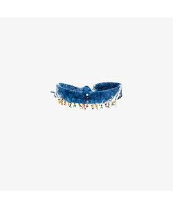 Dannijo | Beaded Scarf Choker Necklace