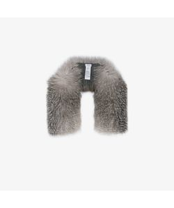 Inverni | Knitted Cashmere Fox Fur Scarf