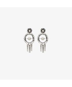 Dannijo | Hoop Earrings With Tassles