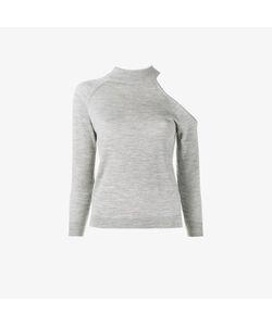Osman | Maya Fine Knitted Cold-Shoulder Top