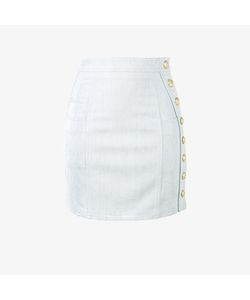 Balmain | Denim Mini Skirt