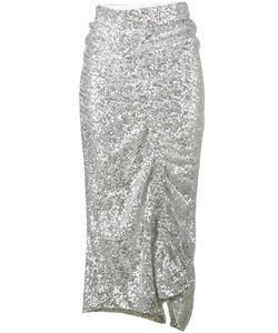 Preen by Thornton Bregazzi | Asymmetrical Sequin Skirt