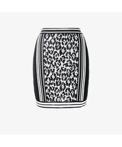 Balmain | Leopard Jacquard Skirt