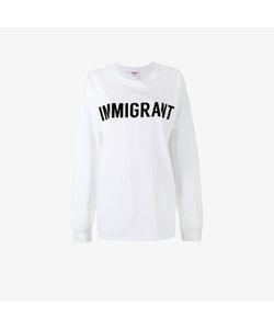 Ashish   Crew Neck Immigrant Sweatshirt