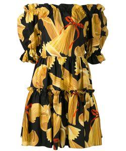 Dolce & Gabbana | Print Off-Shoulder Dress