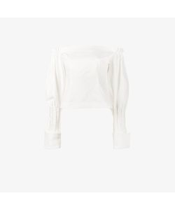 Jacquemus | Off-Shoulder Puff Sleeve Blouse