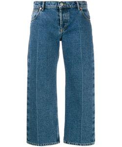 Balenciaga | Cropped Wide Leg Jeans