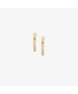 Ileana Makri | Diamond Mini Hoop Earrings