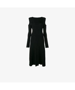 Barbara Casasola | Ribbed Cold Shoulder Dress