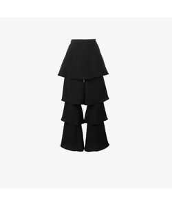 Osman | Tiered Cropped Trousers
