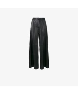 Adam Lippes | Flared Leather Trousers
