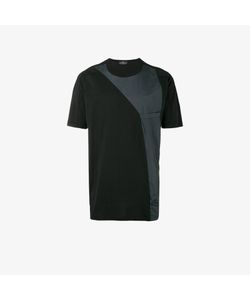 Stone Island Shadow Project | Contrast Panelled T Shirt
