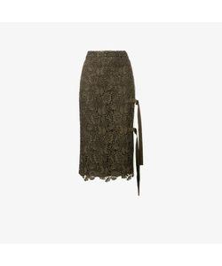 No21   Macramé Lace Pencil Skirt