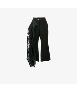 By Walid | Lace Frill Cropped Trousers