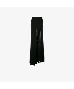 Balmain   Wide Leg Slit Trousers
