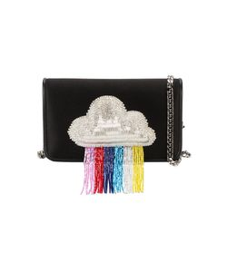 Les Petits Joueurs | Ginny Rainbow Beaded Clutch Bag