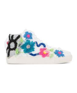 Natasha Zinko   Bead Embellished Sneakers