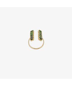 Ileana Makri | 18k And Sapphire Double Column Ring