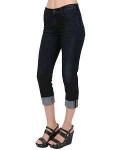 Goldsign | Jenny High Rise Slim Leg In Tricia