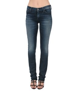 Goldsign | Misfit Slim Leg Denim Pant In Petal