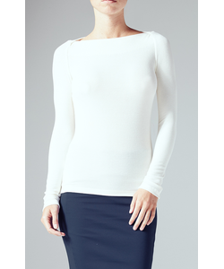 Getting Back To Square One | St. Germaine Sweater In Vanilla