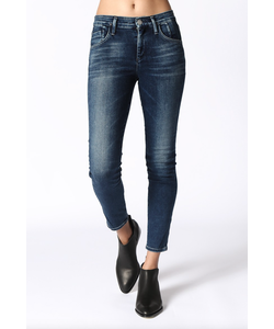 Goldsign | Virtual High Rise Skinny Jean In Hampton