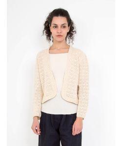 Rachel Comey | Crochet Fling Jacket Ivory