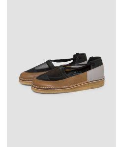 Rachel Comey | Frisco Lace Up Shoes Cadet Olive Combo