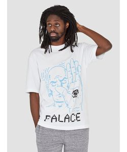 Palace | Talk To The Hand T-Shirt White Menswear
