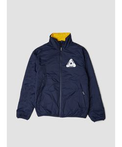 Palace | Reversible Thinsulate Jacket Indigo Lemon Menswear