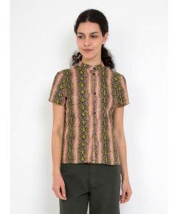Rachel Comey | Diamond Back Linen Bustle Top