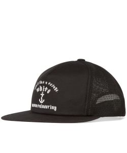 White Mountaineering | Anchor Print Mesh Cap