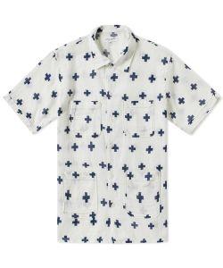 Engineered Garments | Short Sleeve Copley Shirt