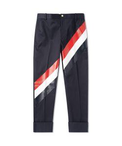 Thom Browne | Diagonal Stripe Chino Pant