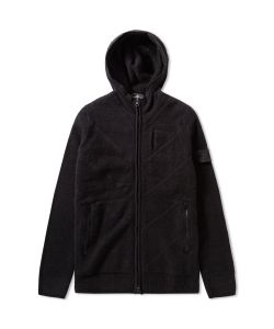 Stone Island Shadow Project | Winter Cotton Intarsia Hooded Jacket