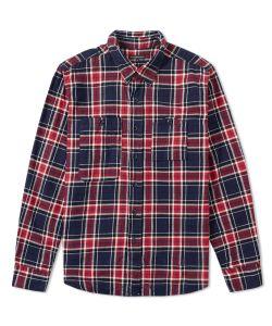 Engineered Garments | Flannel Work Shirt