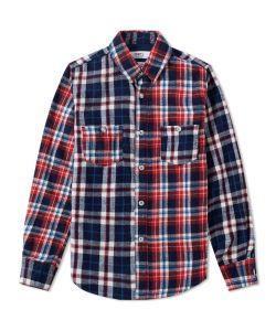Fdmtl | Indigo Check Shirt