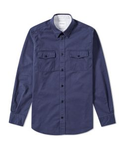 Norse Projects | Villads Compact Twill Shirt