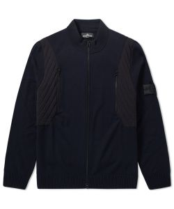 Stone Island Shadow Project | Stretch Wool Intarsia Jacket