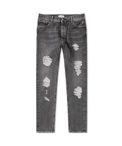 Palm Angels | Regular Fit Ripped Jean