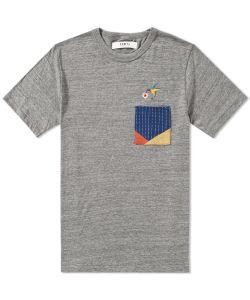 Fdmtl | Origami Patchwork Tee