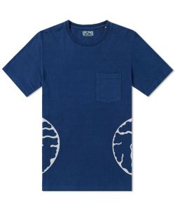 Blue Blue Japan | Fukuju Side Pocket Tee