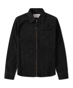 Our Legacy | Suede Zip Shirt