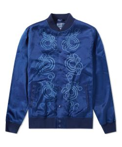 Blue Blue Japan | Rope Knot Baseball Jacket
