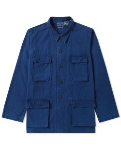 Blue Blue Japan | Four Pocket Shirt Jacket