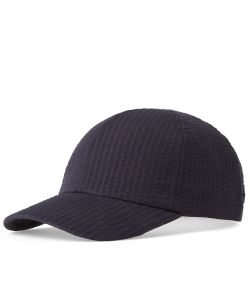 Larose Paris | Seersucker Baseball Cap
